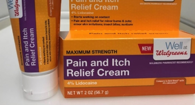 Walgreens Pain and Itch Relief Cream Recalled by Natureplex