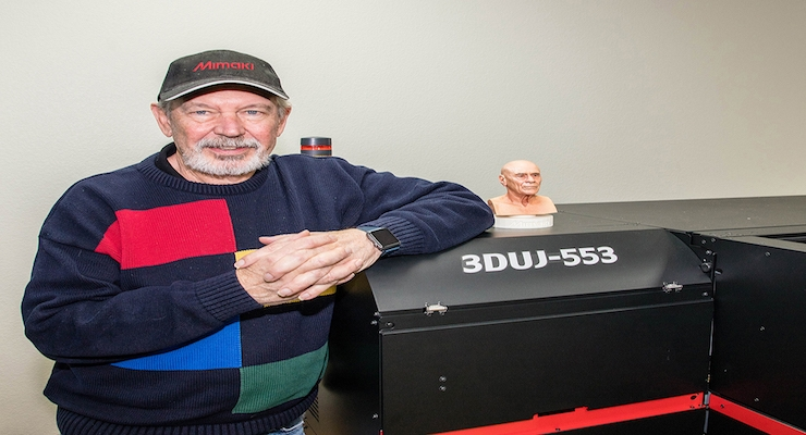 Mimaki USA Installs First 3DUJ-553 Photorealistic 3D printer in the Americas