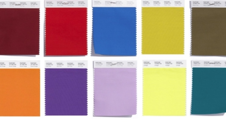 Pantone Predicts Top Colors for NYFW