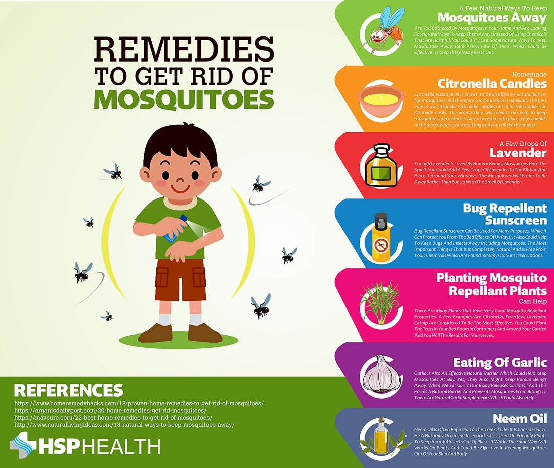 Home Remedies To Keep Mosquitoes From Biting