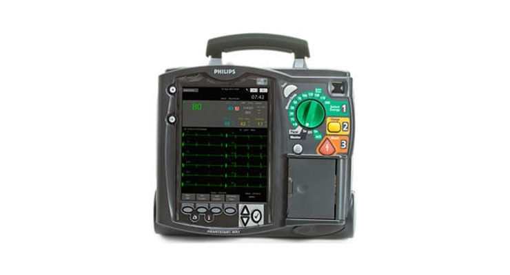 Philips Recalls HeartStart MRx Defibrillator Due to Defects in Gas Discharge Tubes