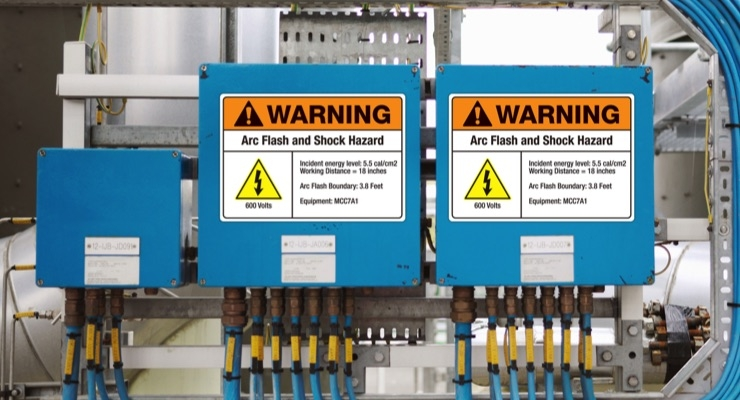 Spotlight on damage-free sign labels for industrial use