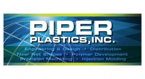 Piper Plastics Develops Next-Generation Injection Moldable Metal Replacement Technology