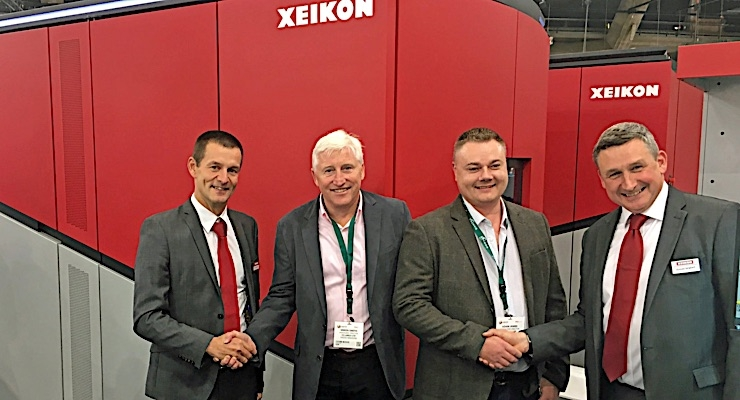 CS Labels invests in fourth Xeikon CX3 digital printing press