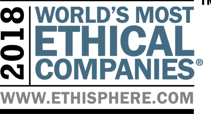 L'Oréal Named One of World's Most Ethical Companies