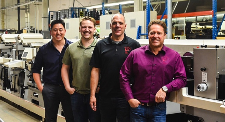 All American Label Adds Nilpeter MO-4 Offset Press