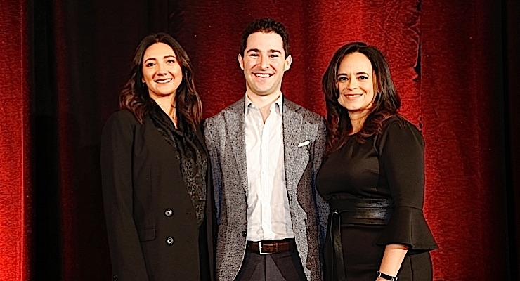 Listen to the Experts. Speakers, left to right, Sarah Jindal, Senior Innovation and Insight Analyst, Beauty & Personal Care, Mintel Group Ltd.; Jordan Rost, Vice President, Consumer Insights, Nielsen; and Larissa Jensen, Executive Director, Beauty Industry Analyst, The NPD Group.