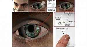 Smart Contact Lens Monitors Glucose in Tears