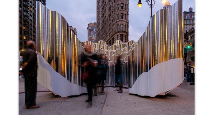 Art Installation Relies on Hampden Paper