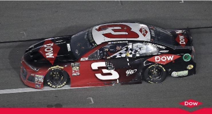 Austin Dillon Drives No. 3 Dow Chevrolet Camaro ZL1 to Victory Lane at Daytona 500