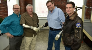 First Bilateral Amputee Fitted with Two LUKE Bionic Arms