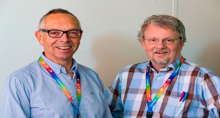FiliGrade CEO Johan Kerver (right) and CFO Wim Nijhof