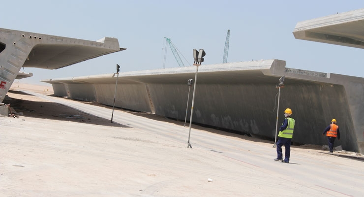 Fibertex Nonwovens supplied Formtex to a major project in Kuwait.