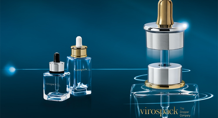 Virospack's new dispenser assembly features a magnet sealing mechanism.