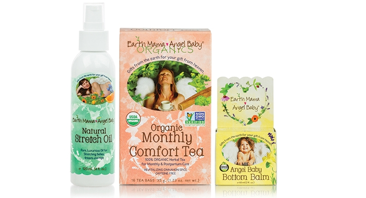 Earth Mama Angel Baby Is Now Earth Mama Organics