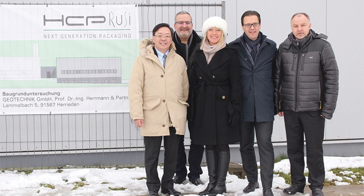 HCP Expands Rusi Site in Germany