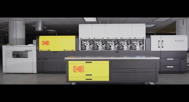 Kodak Launches NEXFINITY Digital Press Platform