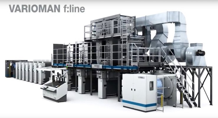 manroland web systems Introduces VARIOMAN Press for Flexible Packaging