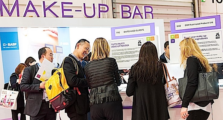 The Make-Up Bar will demonstrate the latest innovations in pigments and technology.