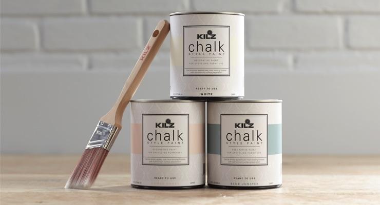 KILZ Launches New Chalk Style Paint