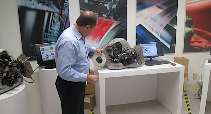 Avery Dennison showcases smart labeling facility