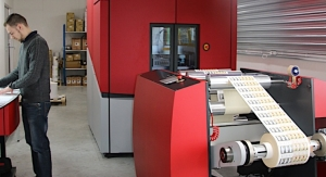 Anjou Etiquettes invests in Xeikon digital label press