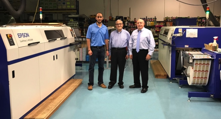 SixB Labels installs second Epson SurePress L-4033AW