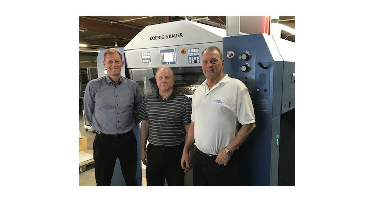 Preferred Printing and Packaging Installs Koenig & Bauer Rapida 105 Six-Color