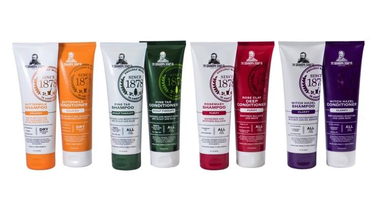 The Grandpa Soap Company Adds Hair Care