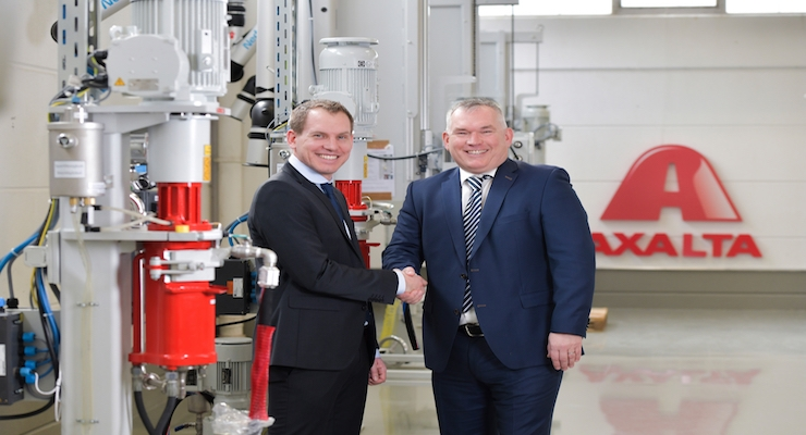 Axalta Coating Systems Opens New Color Solutions Center in Frankfurt, Germany