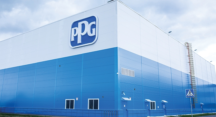 PPG's Lipetsk, Russia facility (Photo courtesy PPG)