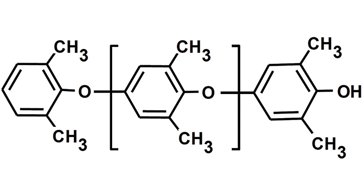 Figure 1. PPE chemical structure.