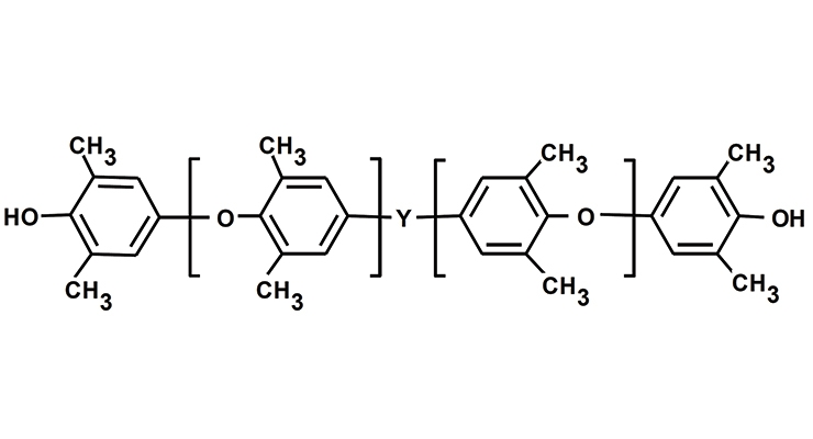 Figure 2. PPE-M chemical structure.