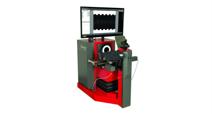 The Starrett HDV500 Digital Video Comparator offers the best features of a large horizontal optical comparator and a vision metrology system. Image courtesy of The L.S. Starrett Company.