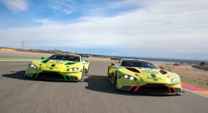 From Manchester to Geneva: HMG Paint Coats Aston Martin Racing Vantage GTE