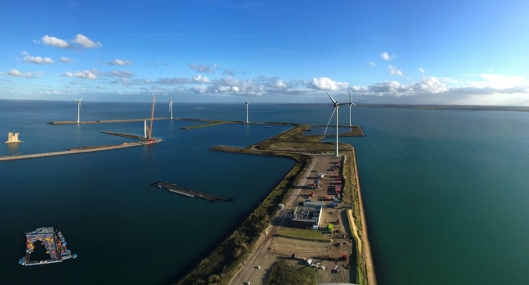 AkzoNobel Specialty Chemicals, DSM, Google and Philips Receive First Power From New Dutch Wind Farm