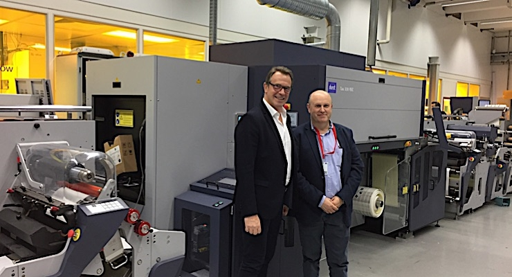 Italian converter tabbed as world's first customer for Omet XJet powered by Durst