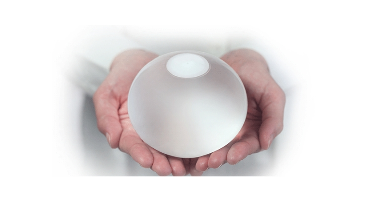 The ORBERA Intragastric Balloon. Image courtesy of Apollo Endosurgery Inc.