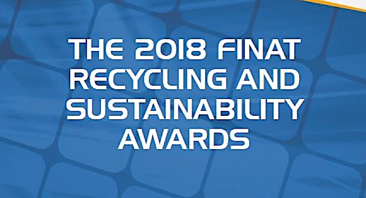 FINAT Sustainability and Recycling Awards program accepting applications