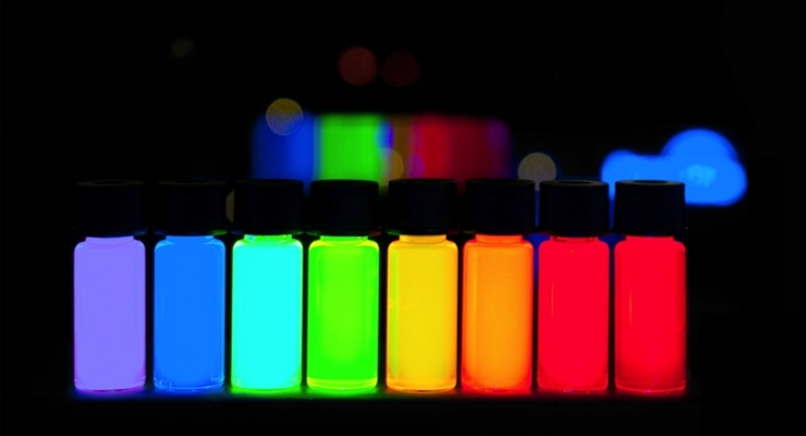 Nanosys, DIC and Inkjet Printed Quantum Dots