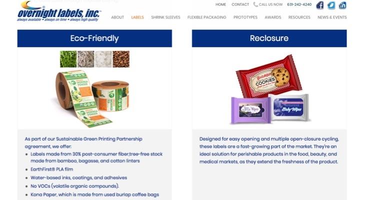 Overnight Labels Unveils Updated Website