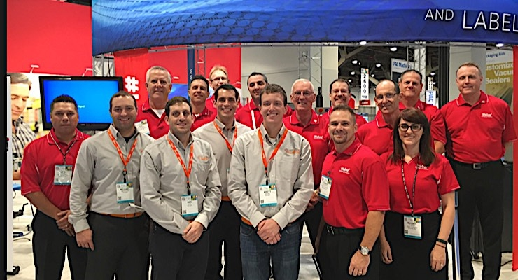 The Weber team at Pack Expo Las Vegas