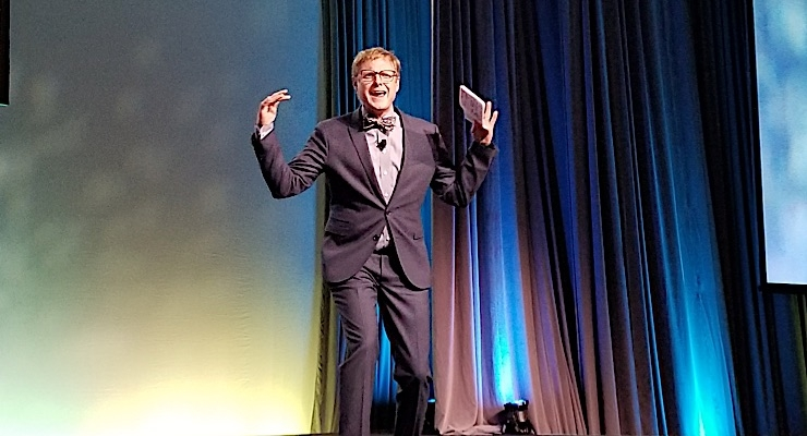 Andrew Davis, a best-selling author and internationally acclaimed keynote speaker, served as the conference emcee.