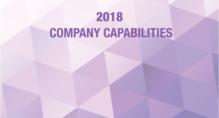 2018 COMPANY CAPABILITIES