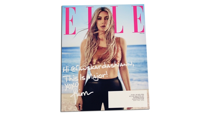 Quad/Graphics Produces ELLE's First Personalized Cover