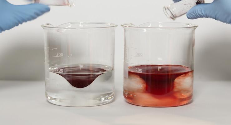 Pigment comparison (Courtesy BASF)