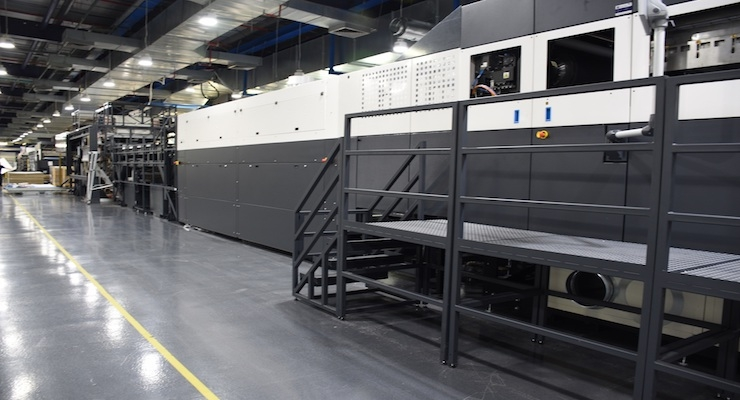 Smurfit Kappa Installs New Industrial-scale HP PageWide C500 Digital Press for Corrugated Printing