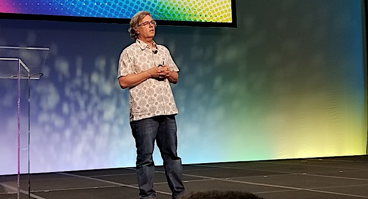 HP's Alon Bar-Shany provides industry update at Dscoop Dallas