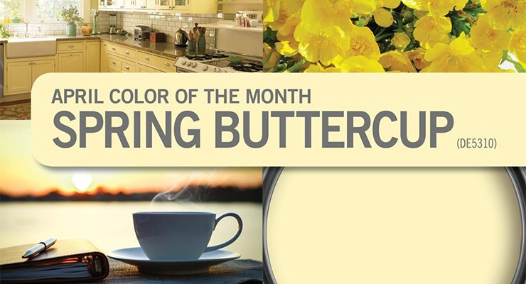 Dunn-Edwards Picks Color of the Month for April