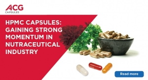 HPMC CAPSULES: Gaining Strong Momentum in the Nutraceutical Industry